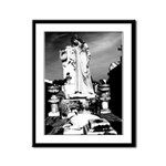 New Orleans cemetery art: mo Framed Panel Print