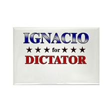 IGNACIO for dictator Rectangle Magnet