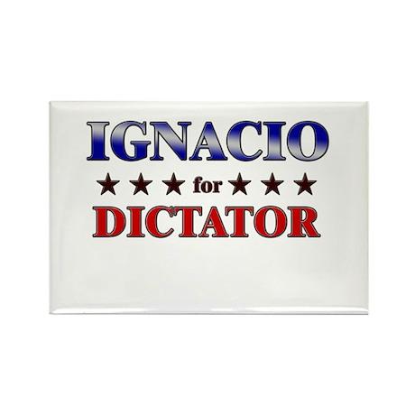 IGNACIO for dictator Rectangle Magnet (10 pack)