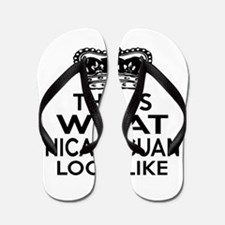 I Am Nicaraguan Flip Flops