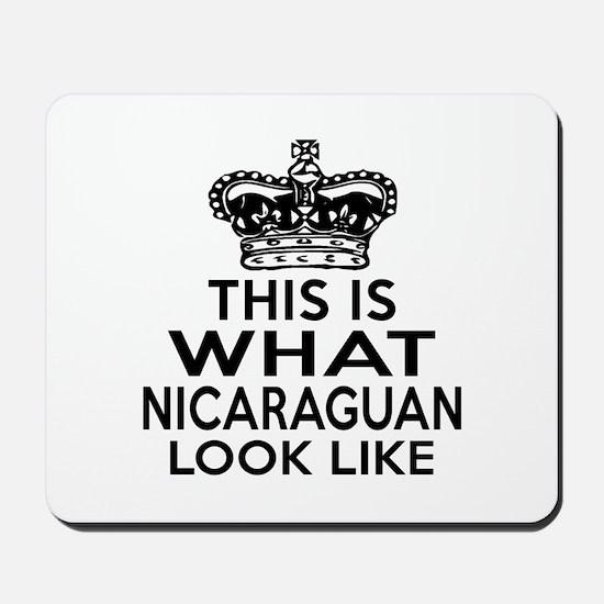 I Am Nicaraguan Mousepad