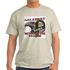 Conservative Second Amendment Ash Grey T-Shirt