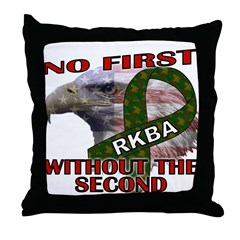 Conservative Second Amendment Throw Pillow