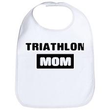 TRIATHLON mom Bib