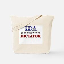 IDA for dictator Tote Bag