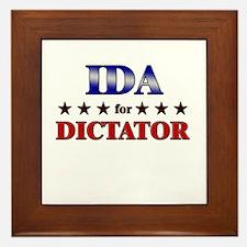 IDA for dictator Framed Tile