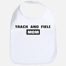 TRACK AND FIELD mom Bib