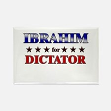 IBRAHIM for dictator Rectangle Magnet