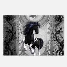 Wonderful horse in black and white Postcards (Pack