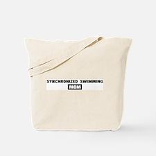 SYNCHRONIZED SWIMMING mom Tote Bag