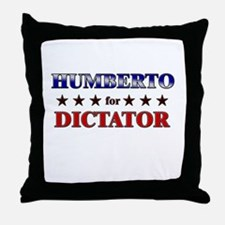 HUMBERTO for dictator Throw Pillow