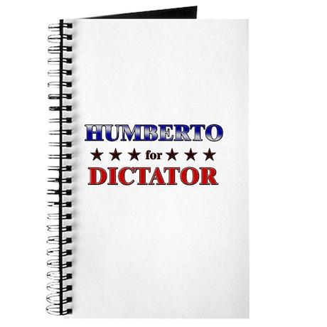 HUMBERTO for dictator Journal