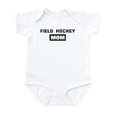 FIELD HOCKEY mom Infant Bodysuit
