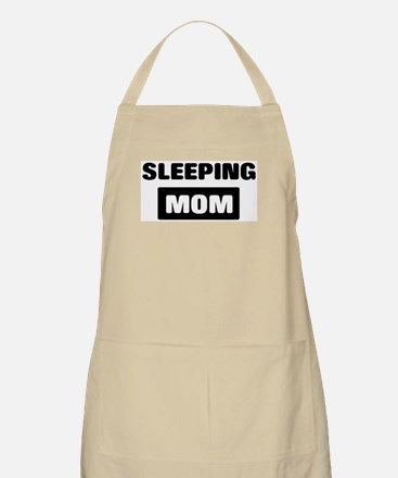 SLEEPING mom BBQ Apron
