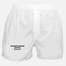 SKIMBOARDING mom Boxer Shorts