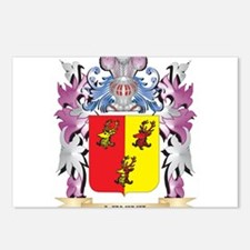 Levine Coat of Arms - Fam Postcards (Package of 8)