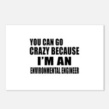 I Am Environmental engine Postcards (Package of 8)