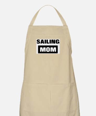 SAILING mom BBQ Apron