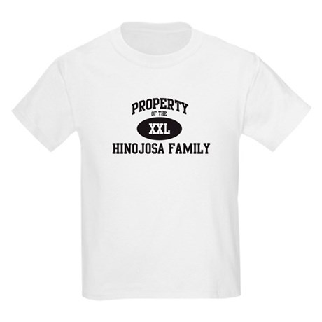Property of Hinojosa Family Kids Light T-Shirt