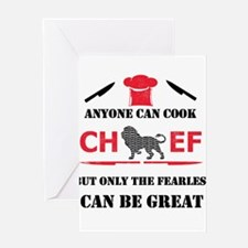 Chef Greeting Cards