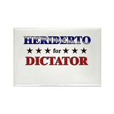 HERIBERTO for dictator Rectangle Magnet