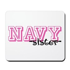 NAVY Sis - Jersey Style Mousepad