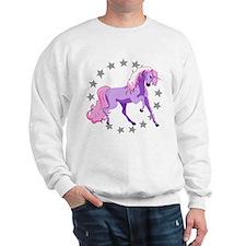 Purple Unicorn Sweatshirt