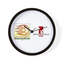 Handballmania Wall Clock