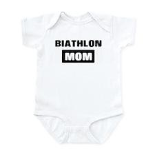 BIATHLON mom Infant Bodysuit