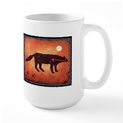 Wolf Moon Large Mug