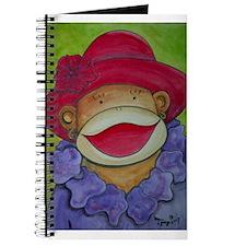 Red Hat Sock Monkey Journal
