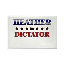 HEATHER for dictator Rectangle Magnet (10 pack)
