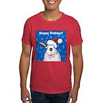 Schmoe Santa Rabbit Dark T-Shirt