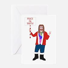 Peace On Earth - Greeting Card