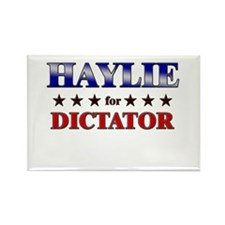 HAYLIE for dictator Rectangle Magnet