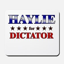 HAYLIE for dictator Mousepad