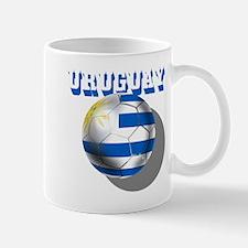 Uruguay Soccer Ball Mug Mugs