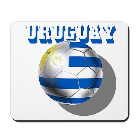 Uruguay Soccer Ball Mousepad