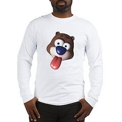 3D Bear Long Sleeve T-Shirt