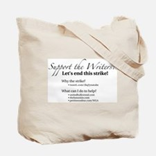 Support the Writers! Tote Bag