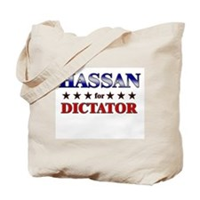 HASSAN for dictator Tote Bag