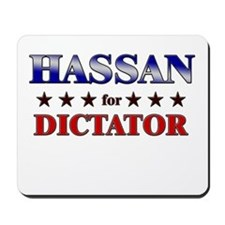 HASSAN for dictator Mousepad