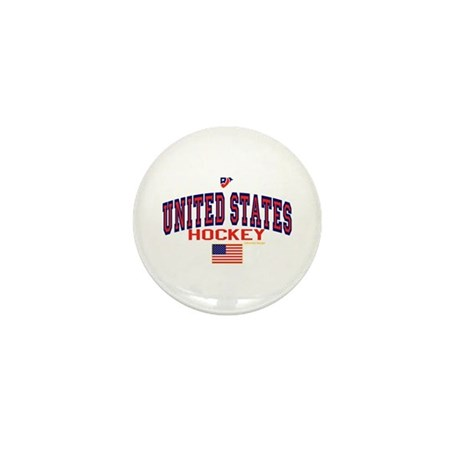US(USA) United States Hockey Mini Button (10 pack)