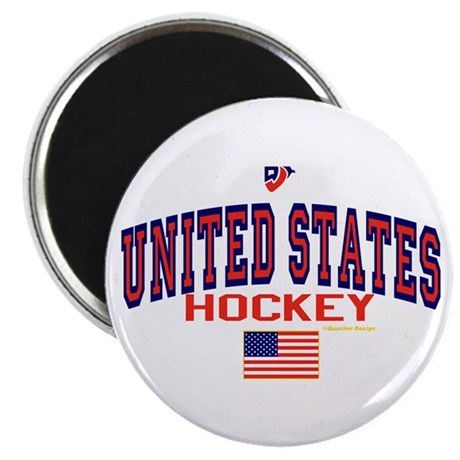 US(USA) United States Hockey Magnet