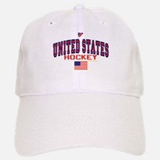 US(USA) United States Hockey Baseball Baseball Cap