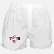 US(USA) United States Hockey Boxer Shorts