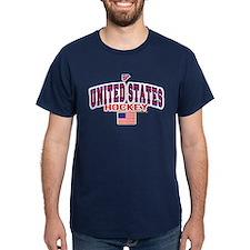 US(USA) United States Hockey T-Shirt