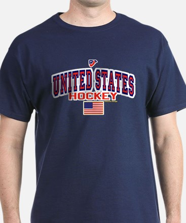 US(USA) United States Hockey T-Shirt