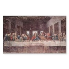 The Last Supper Rectangle Decal