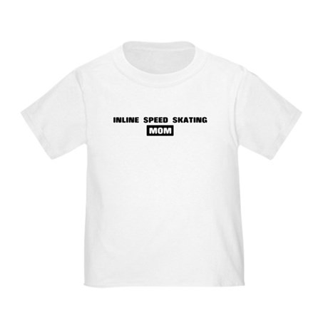 INLINE SPEED SKATING mom Toddler T-Shirt